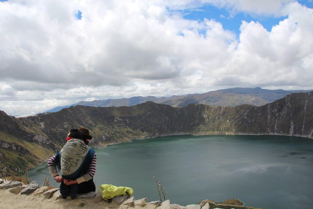 Die Quilotoa Laguna ist perfekt von Quito aus für einen Tagesausflug erreichbar.